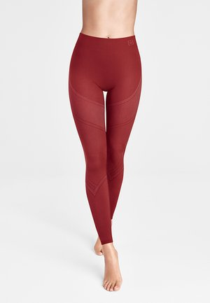 Leggings - Trousers - currant berry/ash