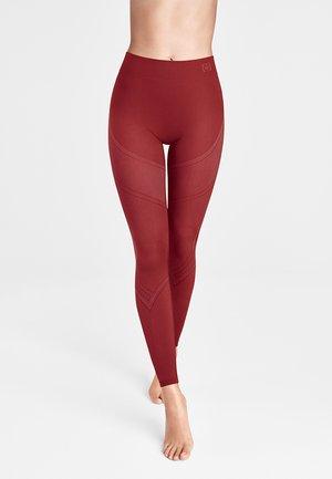 Leggings - Trousers - currant berry/ash