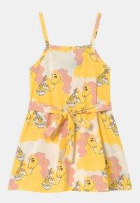 Mini Rodini - UNICORN NOODLES  - Jerseykleid - yellow - 0