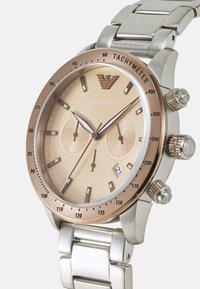 Emporio Armani - Klocka - silver-coloured - 3