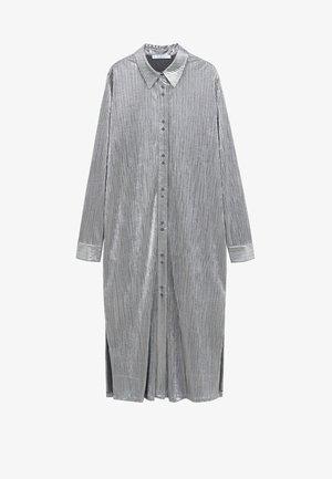 PLATINUM-I - Robe chemise - silber