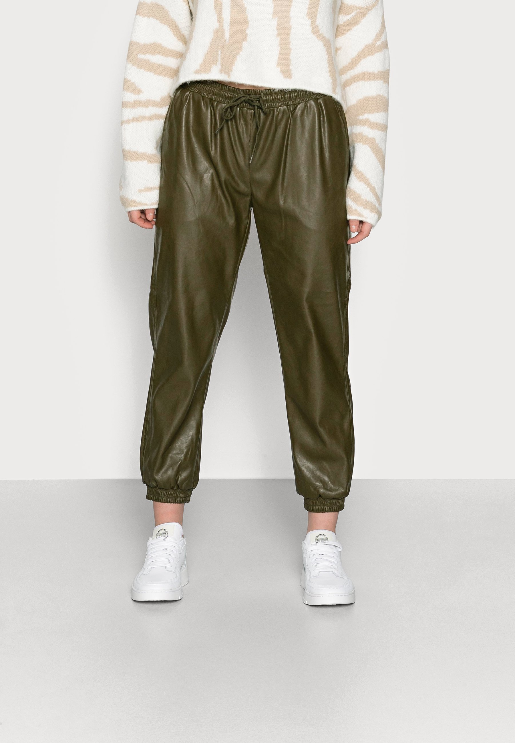 Femme LADIES TROUSERS - Pantalon classique - khaki