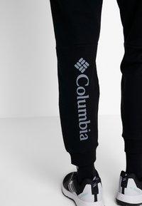 Columbia - LODGE JOGGER - Tracksuit bottoms - black - 3