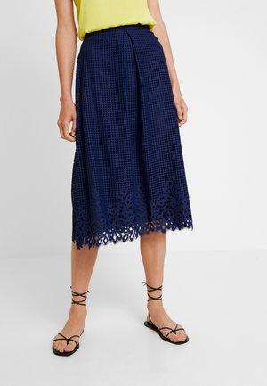 HELENA SKIRT - Áčková sukně - blue