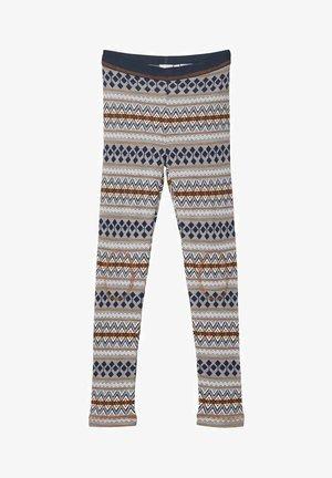 Leggings - ombre blue