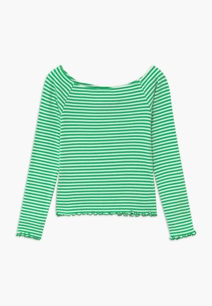 NLFDALLAS LS OFF SHOULDER - Long sleeved top - island green