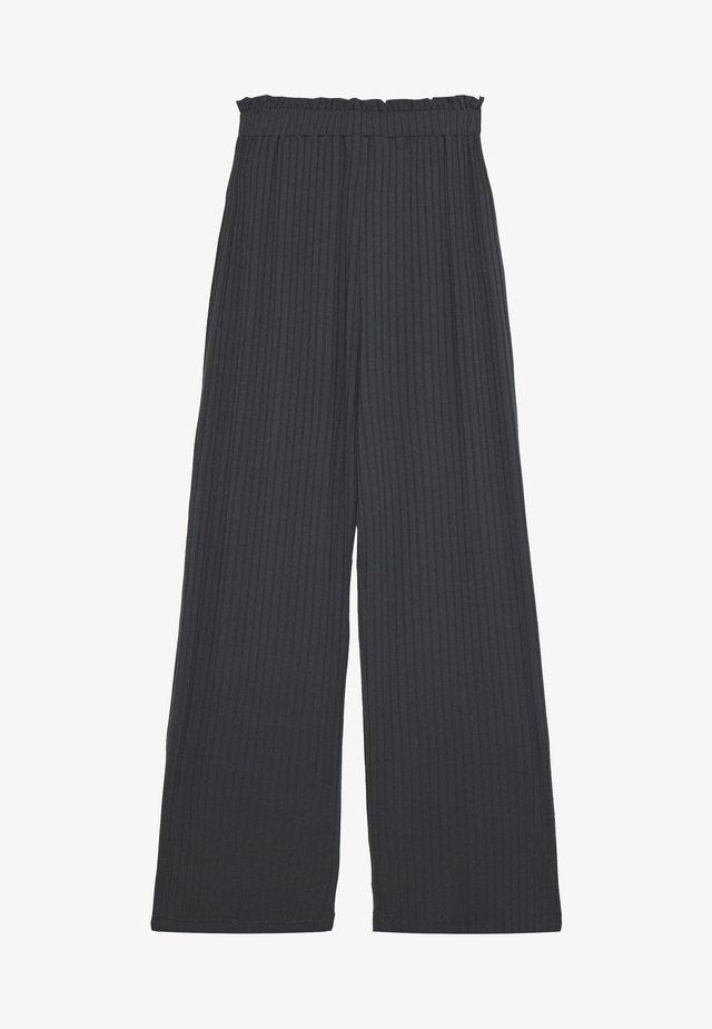 ECO PAPINA - Spodnie materiałowe - asphalt