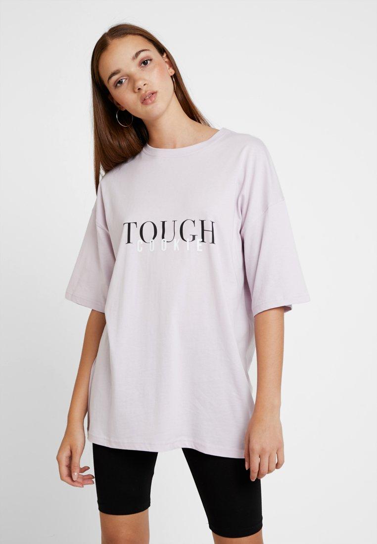 Even&Odd - Print T-shirt - lilac