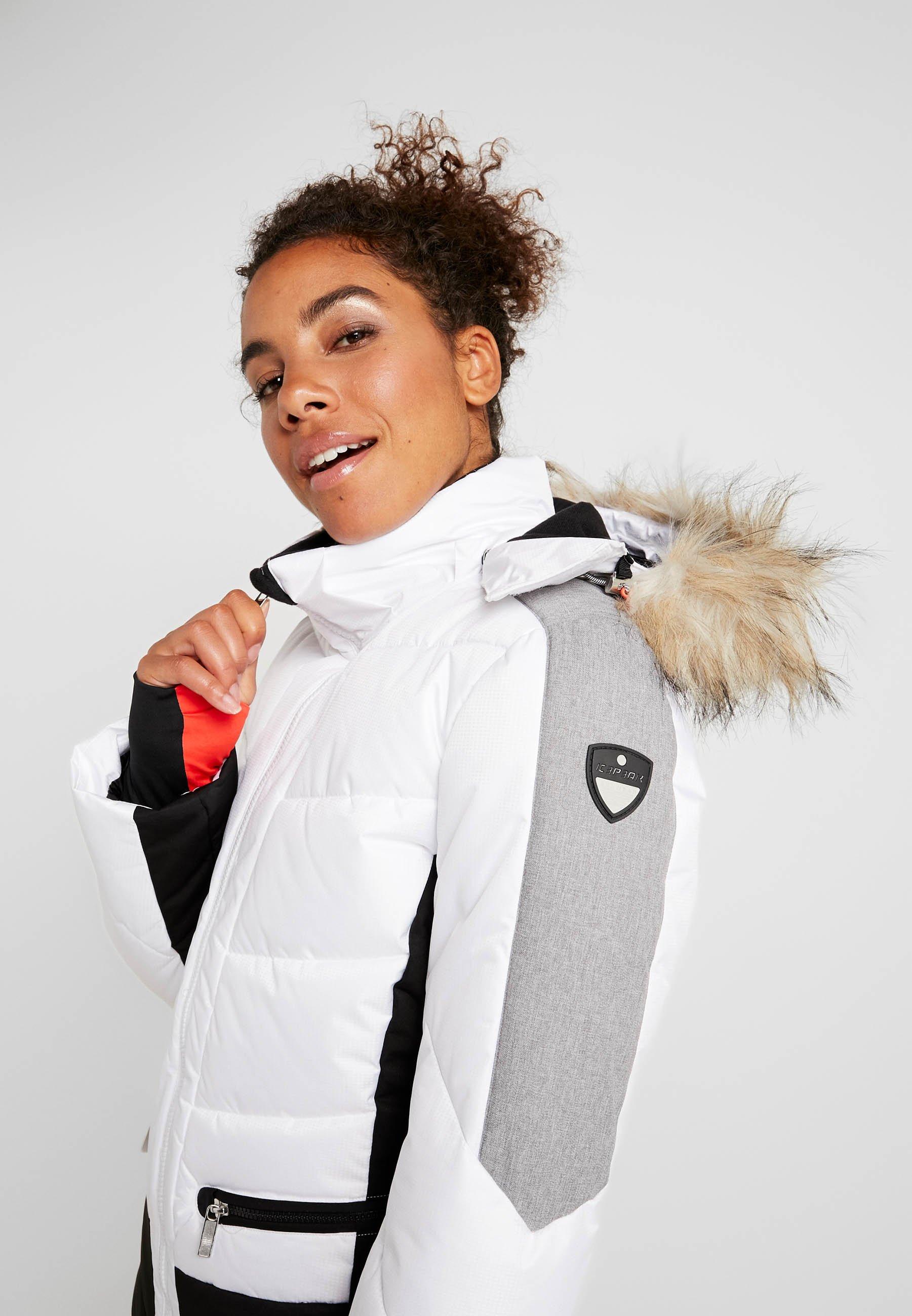 ELECTRA Snowboardjacke optic white