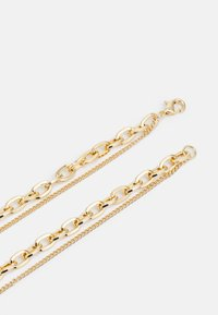 Uncommon Souls - MIX CHAIN CROSS  - Necklace - gold-coloured - 1