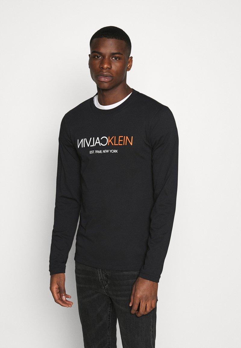 Calvin Klein - Longsleeve - black