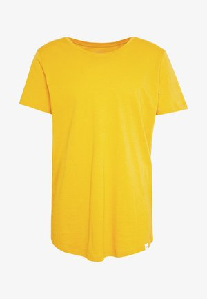 SHAPED TEE - T-shirt basique - golden yellow