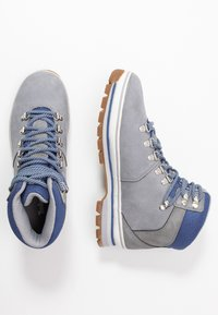 Timberland - EURO HIKER BOOT - Lace-up ankle boots - grey - 3