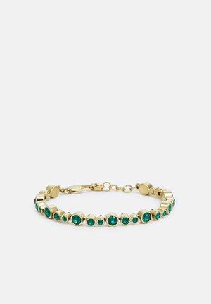 TERESIA BRACELET - Armbånd - green/gold-coloured