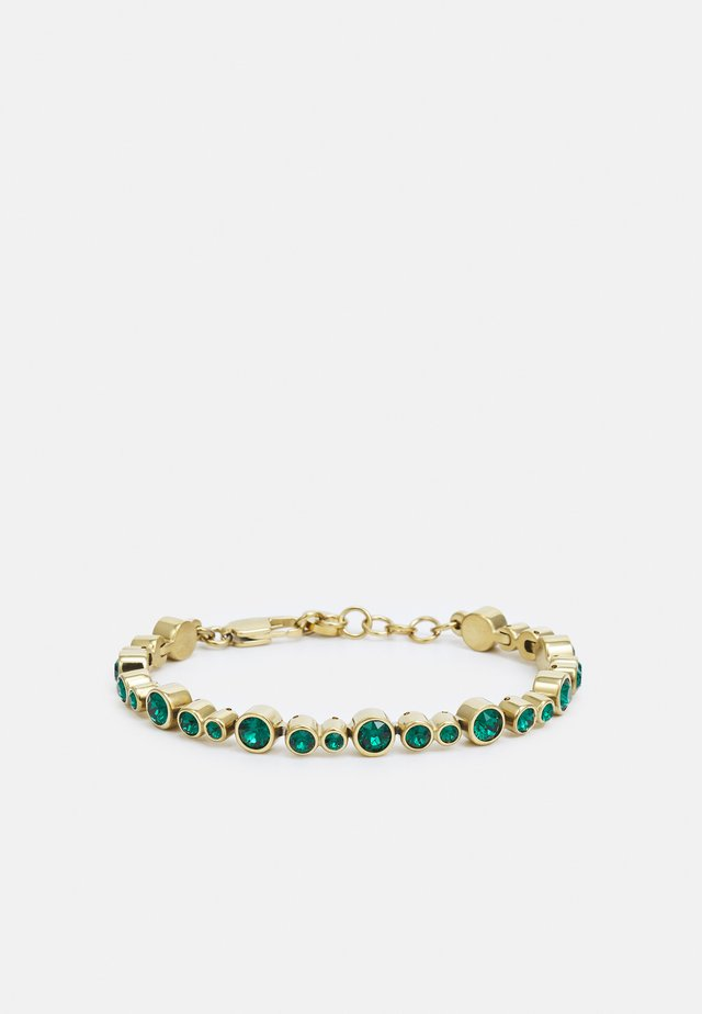 TERESIA BRACELET - Armbånd - green/gold-coloured