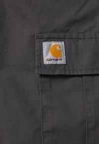 Carhartt WIP - AVIATION PANT COLUMBIA - Cargo trousers - blacksmith rinsed - 7