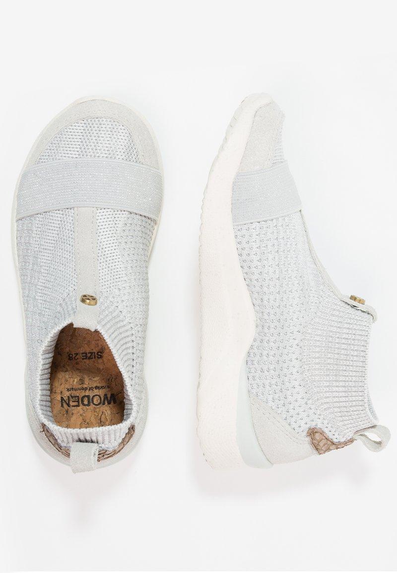 Woden - THYRA KIDS - Sneakers hoog - sea fog grey