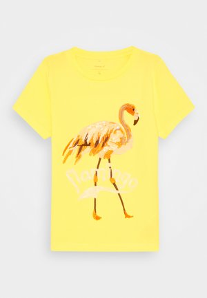 NKFHULAI - T-shirt print - limelight