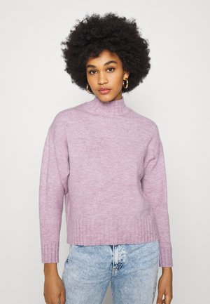 STAND JUMPER - Neule - lilac