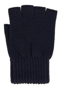 Carhartt WIP - MILITARY MITTEN UNISEX - Fingerless gloves - dark navy - 1