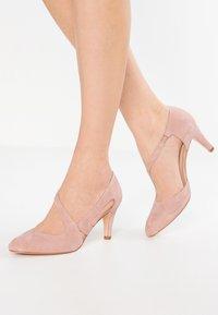 Anna Field - LEATHER CLASSIC HEELS - Classic heels - rose - 0