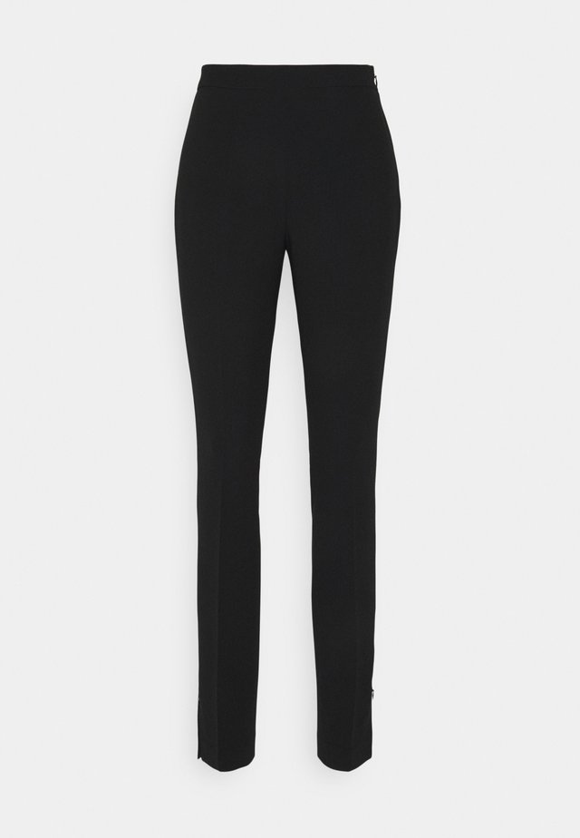 CINDY TROUSER - Trousers - black