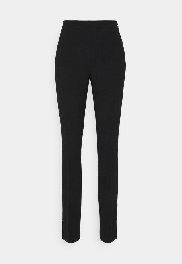 CINDY TROUSER - Kalhoty - black