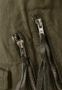 Be Edgy - BECHAIN - Denim jacket - khaki - 3