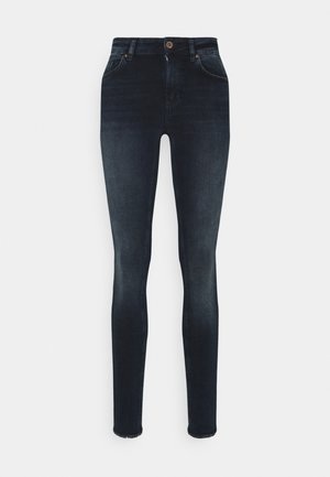 ONLBLUSH LIFE RAW - Jeans Skinny Fit - blue black denim