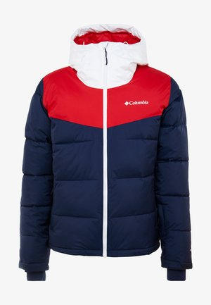 ICELINE RIDGE JACKET - Skidjacka - collegiate navy/mountain red/white