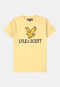Lyle & Scott - EAGLE LOGO - Print T-shirt - french vanilla - 0