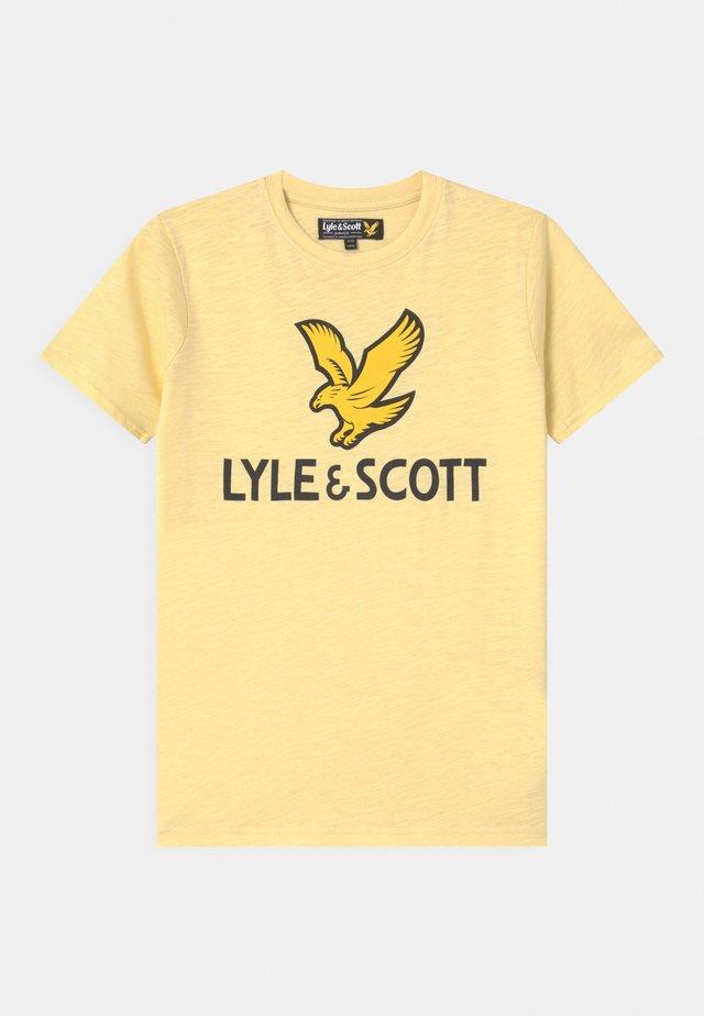 EAGLE LOGO - Print T-shirt - french vanilla