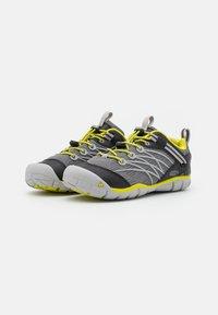 Keen - CHANDLER CNX UNISEX - Hiking shoes - steel grey/evening primrose - 1