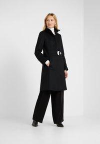 HUGO - MONATA - Zimní kabát - black - 0