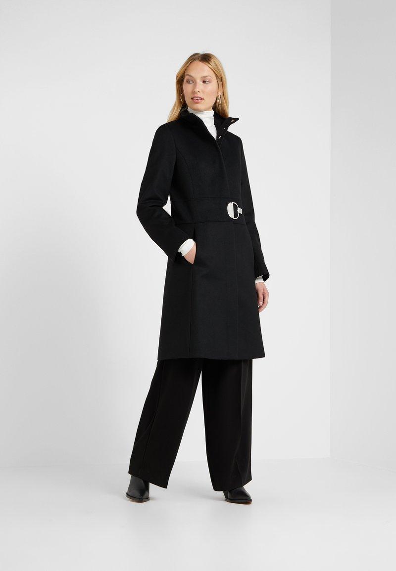 HUGO - MONATA - Zimní kabát - black