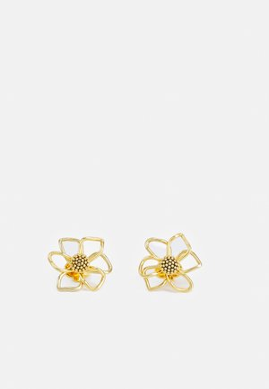 WILD GARDEN STUDS - Earrings - gold-coloured