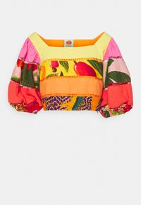 RAINBOW MIXED PRINTS TIERED - Top - multicoloured