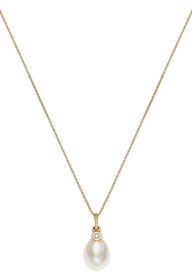 Necklace - gold/perlmutt