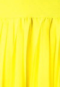 NA-KD - MINI PLEATED SKIRT - A-line skirt - yellow - 2