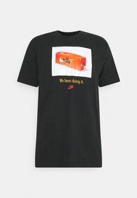 Nike Sportswear - TEE PHOTO - Print T-shirt - black - 0