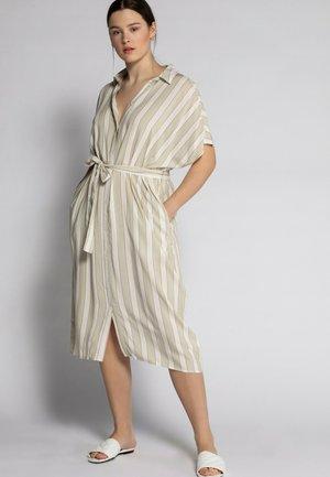 Shirt dress - sandbeige