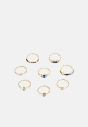FGMADELINA 8 PACK  - Ring - gold-coloured/multi