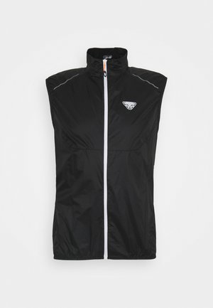 WIND  - Waistcoat - black out