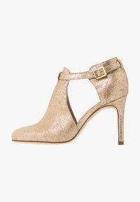 San Marina - AVISINO - High heeled ankle boots - gold - 1