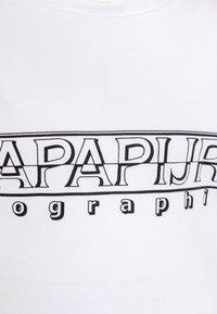 Napapijri - SOLI - Long sleeved top - bright white - 2