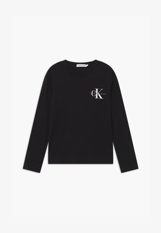CHEST MONOGRAM UNISEX - Long sleeved top - black