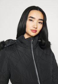 Missguided - SKI QUILTED CORSET SNOW - Overal - black - 4