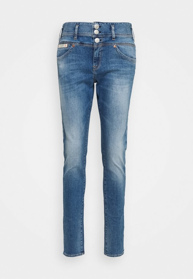 RAYA BOY STRETCH - Jeans Straight Leg - blue denim