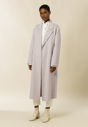BELTED COAT - Kappa / rock - birch