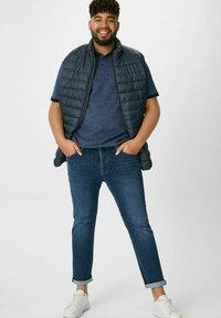 C&A - Polo shirt - mottled blue - 1